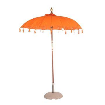 Resim Dekoratif Şemsiye Orange H:260 cm