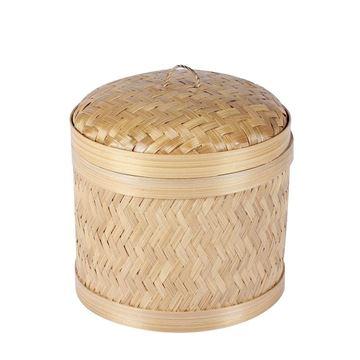 Resim Bambu Sepet H:19 cm