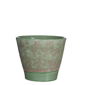 Resim Çiçeklik Harris Yeşil 22x19 cm
