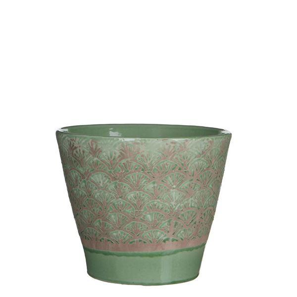 resm Çiçeklik Harris Yeşil 22x19 cm