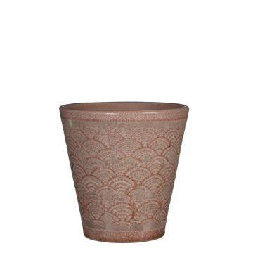Resim Çiçeklik Harris Koyu Pembe 18x18 cm