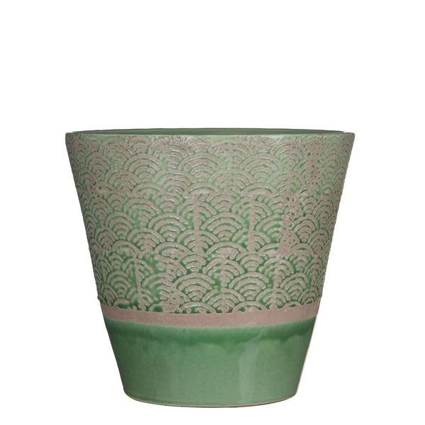 resm Çiçeklik Harris Yeşil 25x23 cm
