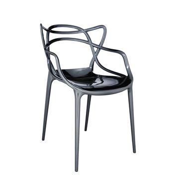 Resim Masters Sandalye Titanyum