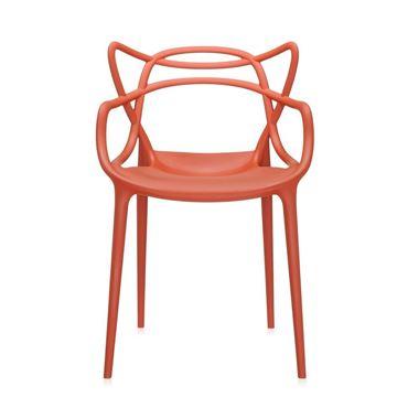 Resim Masters Sandalye Paslı Turuncu