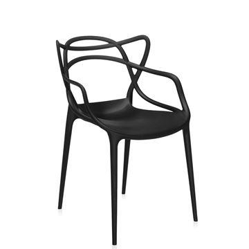 Resim Masters Sandalye Siyah