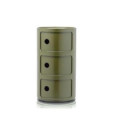 Resim Componibili 3 Çekmeceli Modül Yeşil