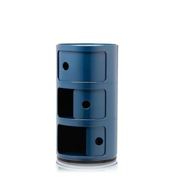 Resim Componibili 3 Çekmeceli Modül Mavi