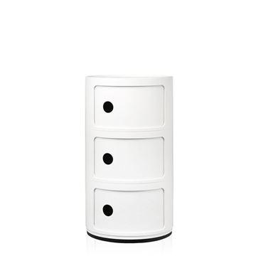Resim Componibili 3 Çekmeceli Modül Beyaz