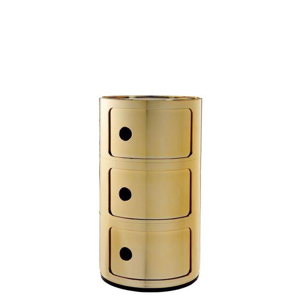 resm Componibili 3 Çekmeceli Modül Gold