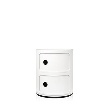 Resim Componibili 2 Çekmeceli Mödül Beyaz