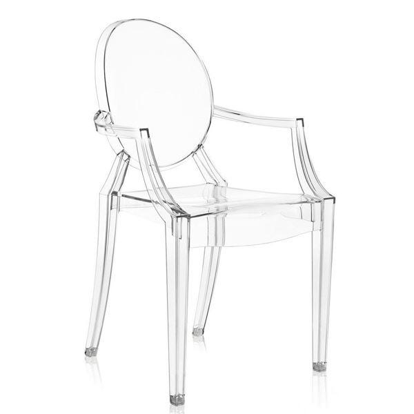 resm Louis Ghost Sandalye Şeffaf