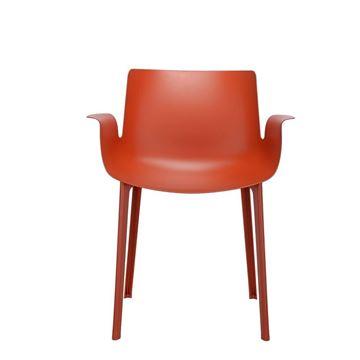 Resim Piuma Sandalye Pas Turuncu