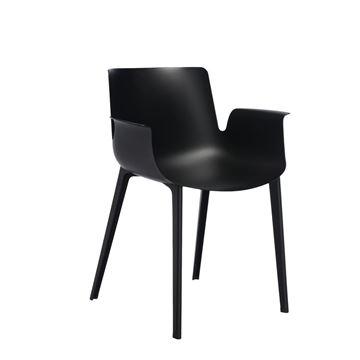 Resim Piuma Sandalye Siyah