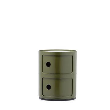 Resim Componibili 2 Çekmeceli Modül Yeşil