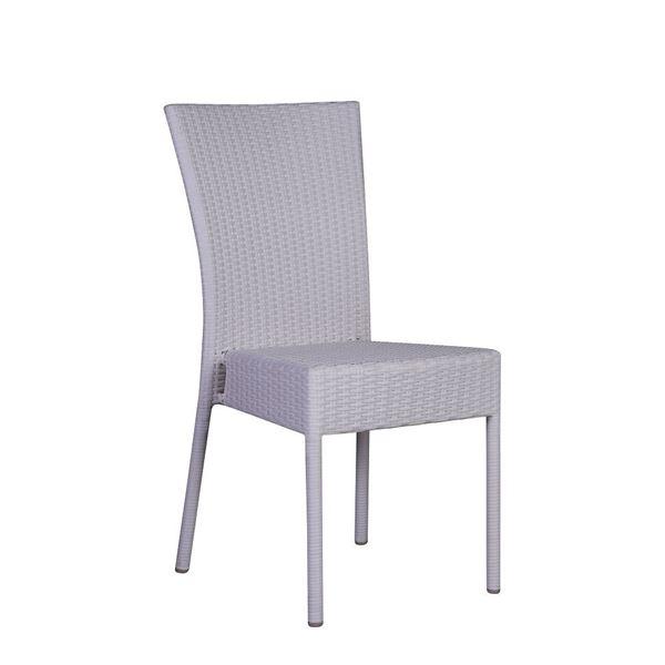 resm Salsa Kolsuz Sandalye Beyaz
