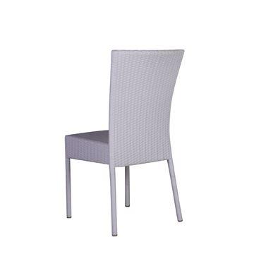 Resim Salsa Kolsuz Sandalye Beyaz