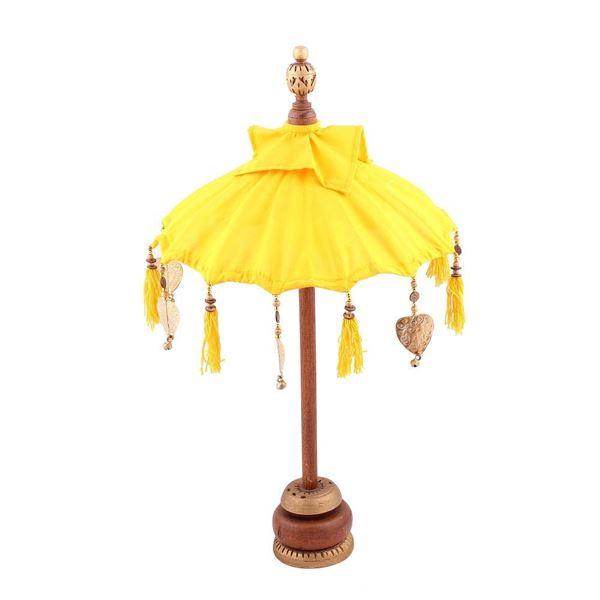 resm Mini Dekoratif Şemsiye Sarı 68 cm