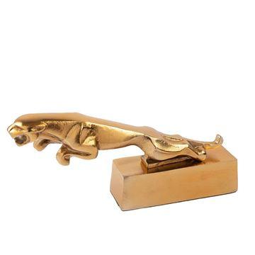 Resim Gold Kaplan Dekoratif Obje 34x15 cm