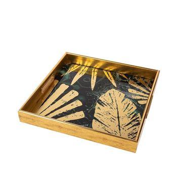 Resim Gold Kare Tepsi 35 cm