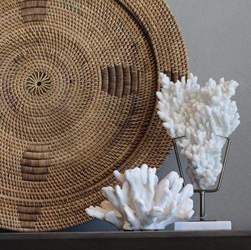 Resim Mercan Dekoratif Obje 19x12x35 cm