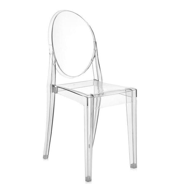 resm Victoria Ghost Sandalye Şeffaf