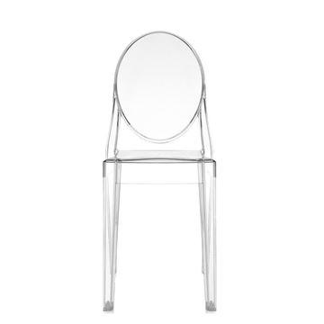 Resim Victoria Ghost Sandalye Şeffaf