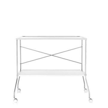 Resim Flip Servis Masası Beyaz