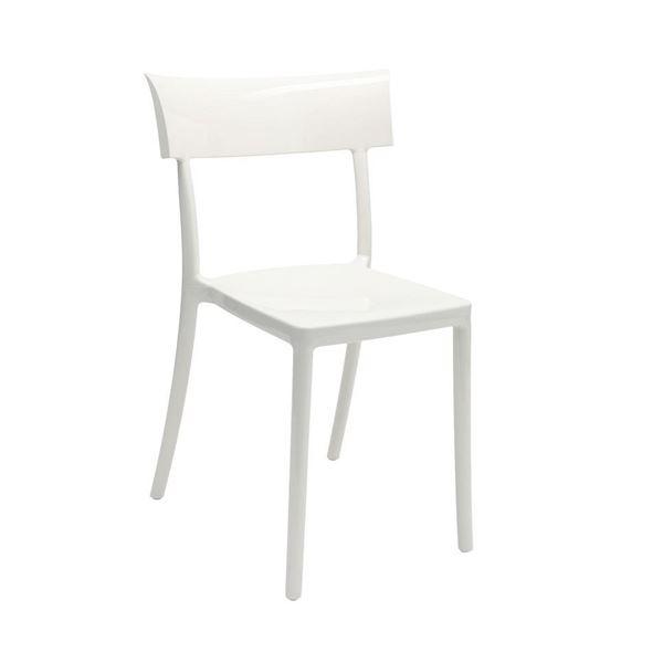 resm Catwalk Sandalye Beyaz