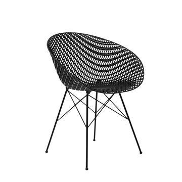 Resim Smatrık Sandalye Siyah/Siyah