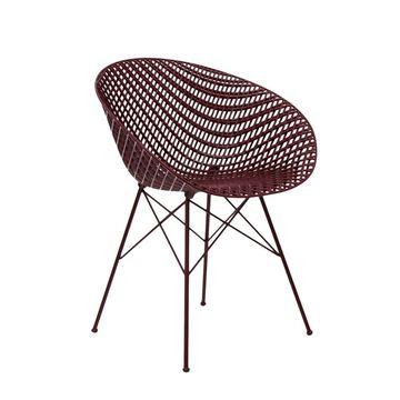 Resim Smatrık Sandalye Bordo/Bordo