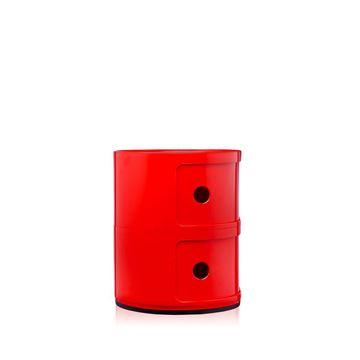 Resim Componibili 2 Çekmeceli Modül Kırmızı