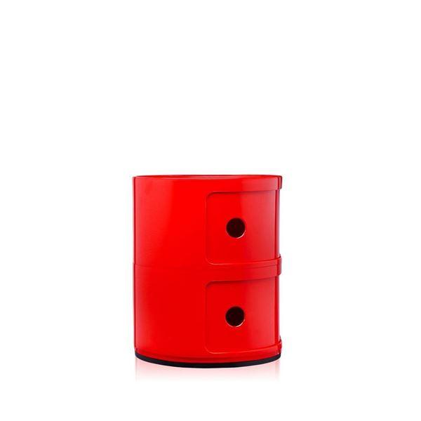 resm Componibili 2 Çekmeceli Modül Kırmızı
