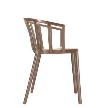 Resim Venice Sandalye Paslı Bej-Krem