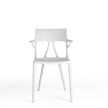 Resim A.I. Sandalye Beyaz