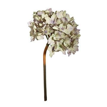Resim Dekoratif Çiçek Füme Beyaz