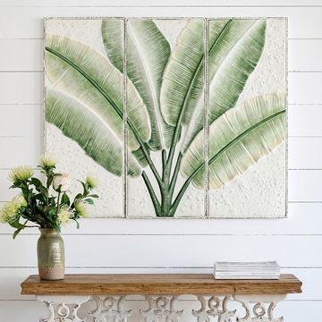 Resim Muz Yaprağı Duvar Panosu