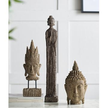 Resim Buda Heykel H:40 cm