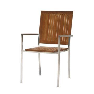 Resim Kollu Sandalye Teak