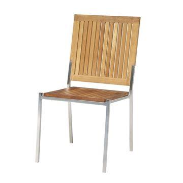 Resim Kolsuz Sandalye Teak