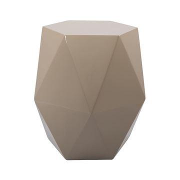 Resim Diamond Sehpa Parlak Bej
