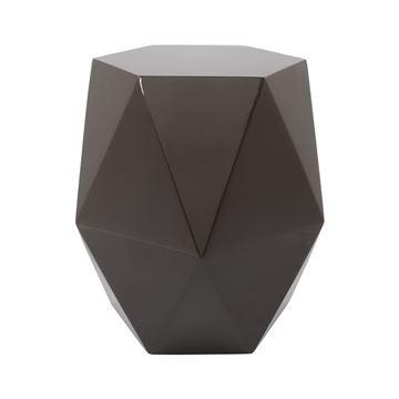 Resim Diamond Sehpa Parlak Siyah