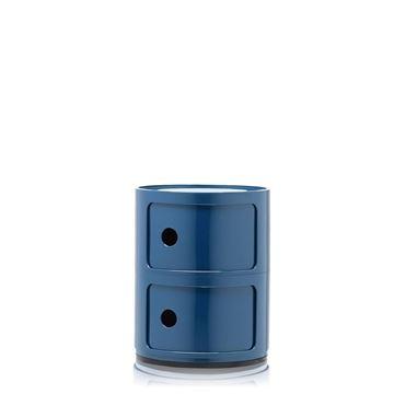 Resim Componibili 2 Çekmeceli Modül Mavi