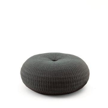 Resim Donut Puf Antrasit 80x34 cm