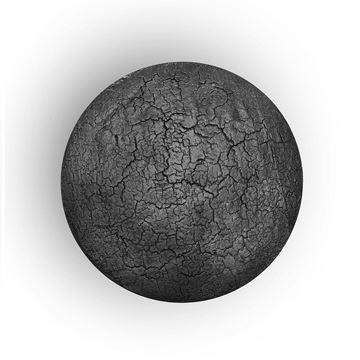 Resim Celeste Yan Sehpa Siyah 45x43 cm