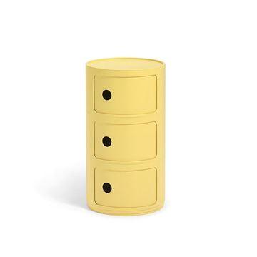 Resim Componibili Bıo 3 Çekmeceli Modül Sarı