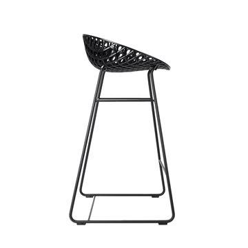 Resim Smatrik Bar Sandalyesi Siyah/Siyah