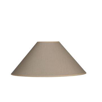 Resim Solferino Taupe Abajur Şapkası H:25 cm