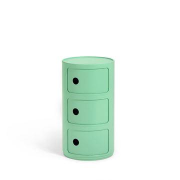 Resim Componibili Bıo 3 Çekmeceli Modül Yeşil