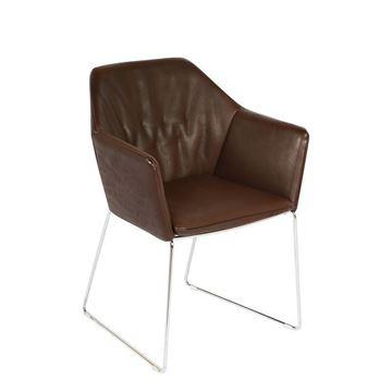 Resim New York Deri Sandalye