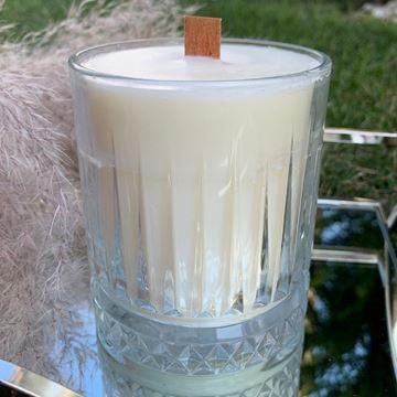 Resim 1 Fitilli 320 gr Soya Mumu